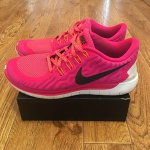 Nike Free 5.0 Women's Running Shoes Size 8